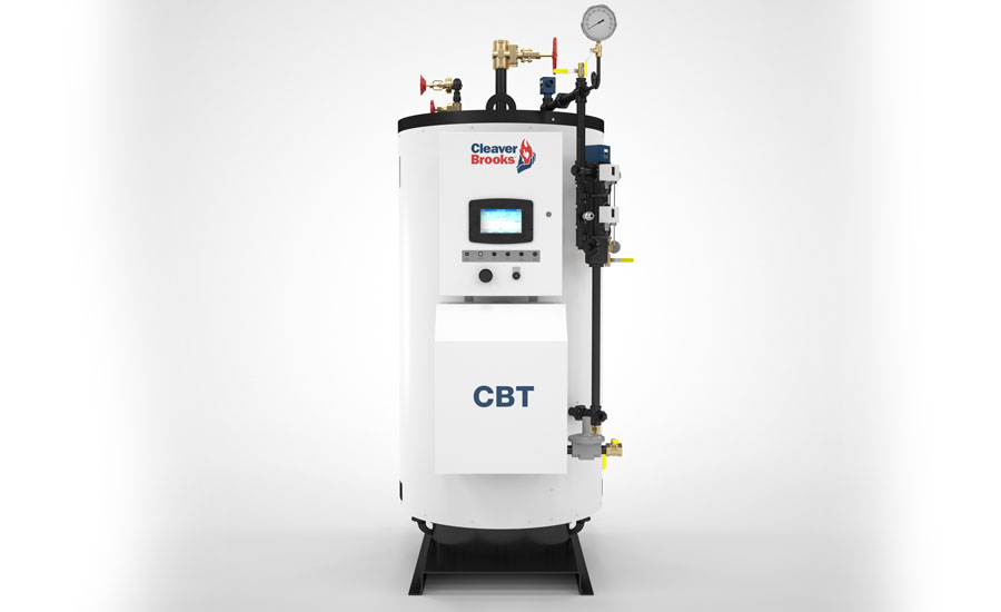 ready your boiler for winter news and events cannepp cleaver brooks announces cbt model tubeless steam boiler at ahr expo in las vegas